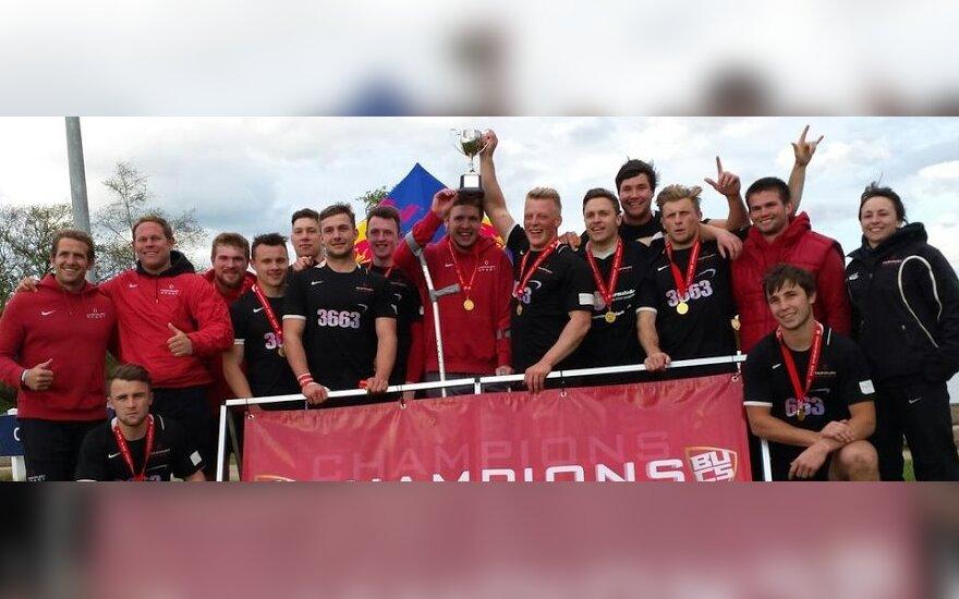 J. Mikalčius triumfavo Anglijos studentų regbio-7 čempionate