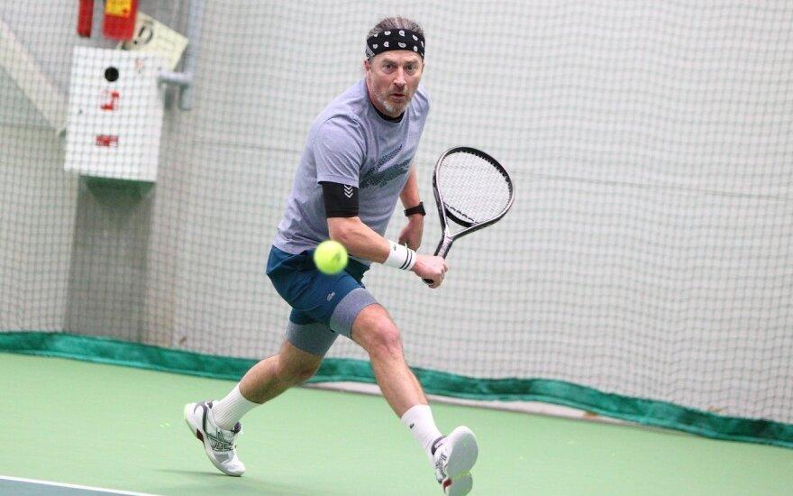 Senjorų teniso turnyre Vilniuje – daugiau nei 20-ies šalių atstovai