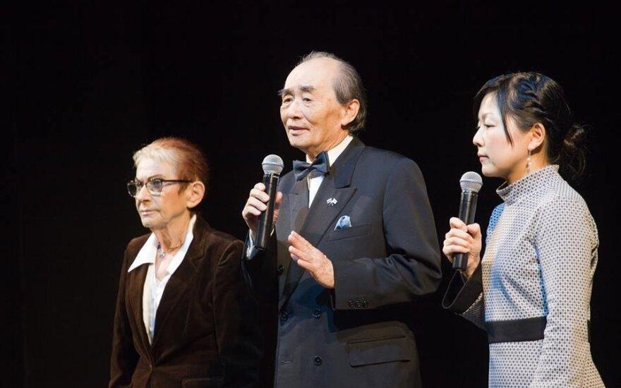 Bella Shirin, Hisayuki Sakamizu and Maria Kishida photo by Linas Vasiliauskas
