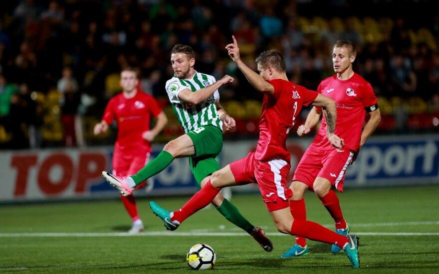 A lygos sezono licencijų sieks 10 futbolo klubų
