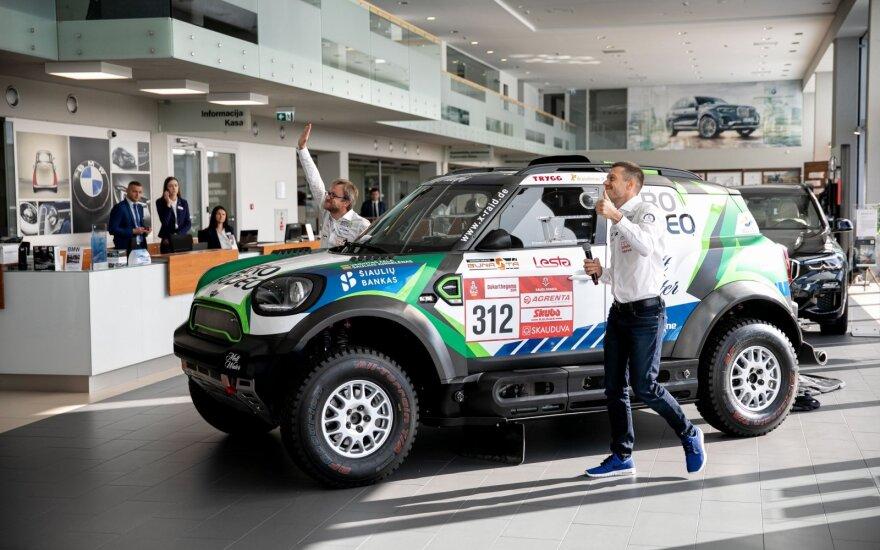 Žala pristatė naują komandos bolidą: Dakare bus vienintelis lietuvis tokiu automobiliu