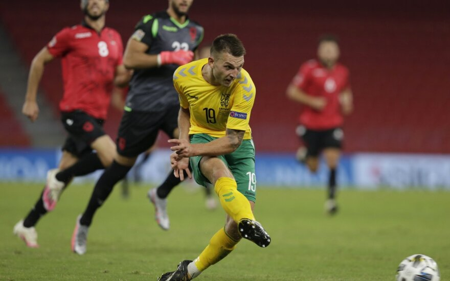 UEFA Tautų lyga: Albanija - Lietuva