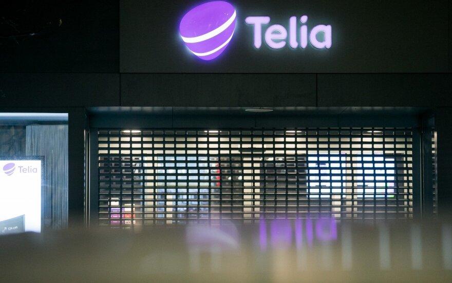 """""""Telia"""" pelnas per metus išaugo 11 proc."""