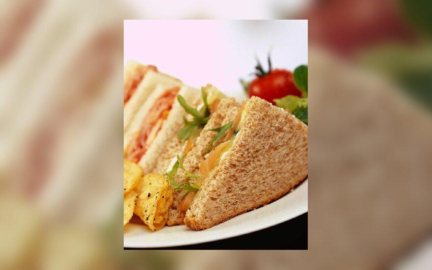 maistas, sumuštiniai, užkandžiai, valgis