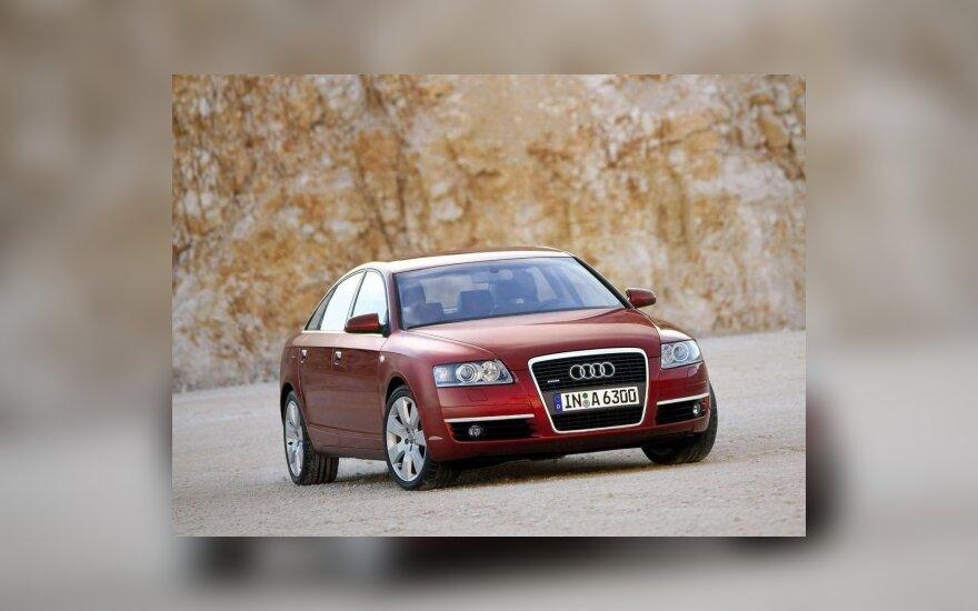 """Apskričių viršininkai važinėjo """"Audi A6"""" ir """"BMW 730"""""""