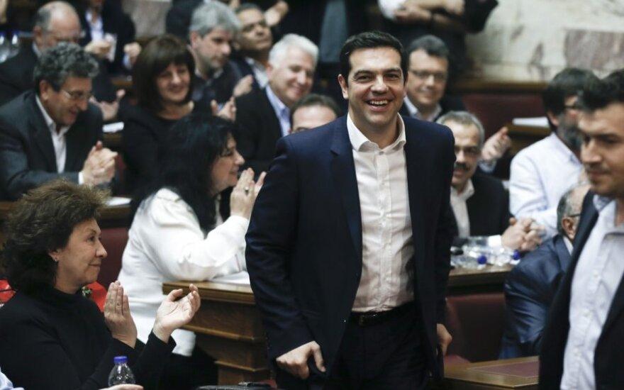Vokietija pareiškė, kad nesiderės dėl Graikijos