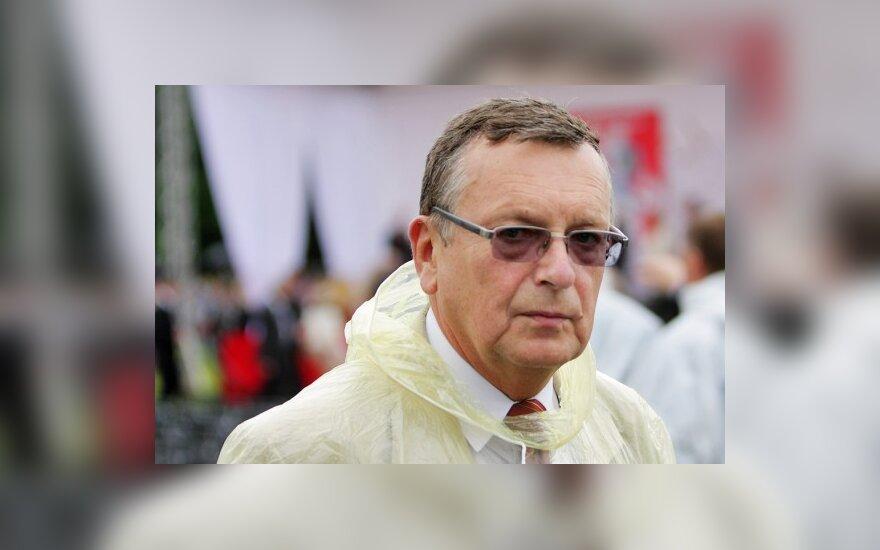 Sveikatos apsaugos ministro patarėju tapo buvęs kultūros ministras J.Jučas