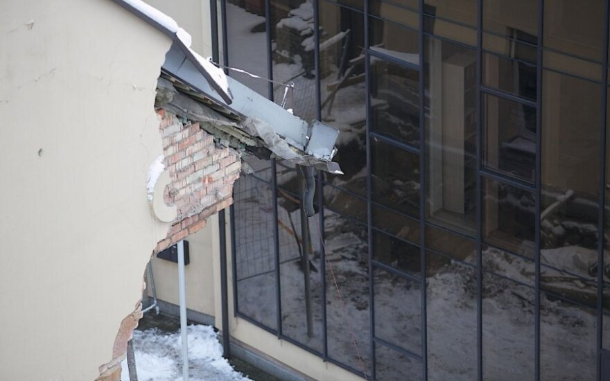 Verdiktas dėl pastato griūties Vilniuje