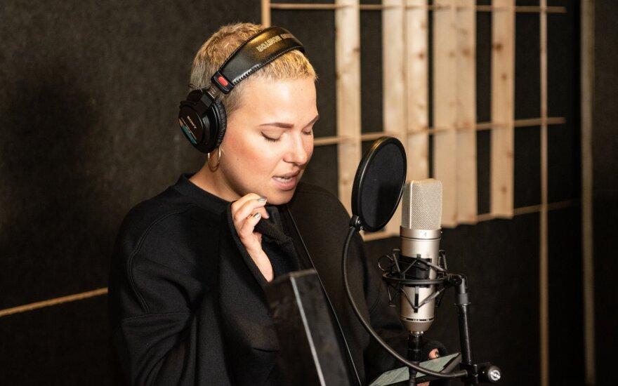 Jazzu su latviais ir estais įrašė bendrą dainą /Foto: Gediminas Gražys