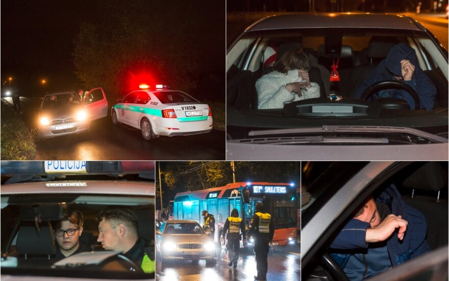 Naktiniame reide pavydėtinas merginos atkaklumas neišgelbėjo vairuotojo: palūžęs jaunuolis viską išdėstė raštu
