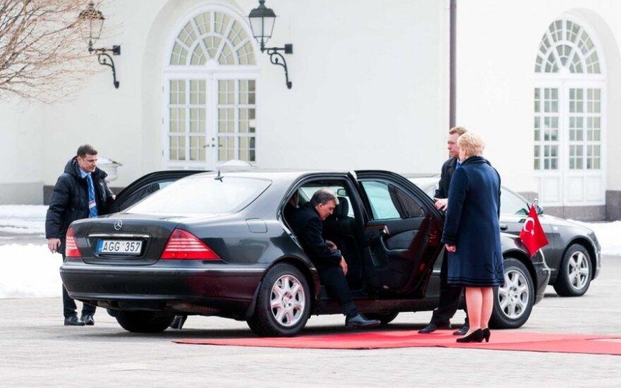 Dalia Grybauskaitė susitiko su Turkijos prezidentu Abdullah Gulu