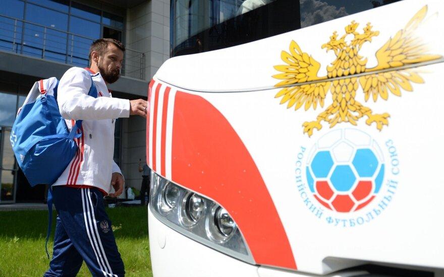 Prancūzijoje jau renkasi pirmieji UEFA Euro 2016 dalyviai – atskrido ir rusai