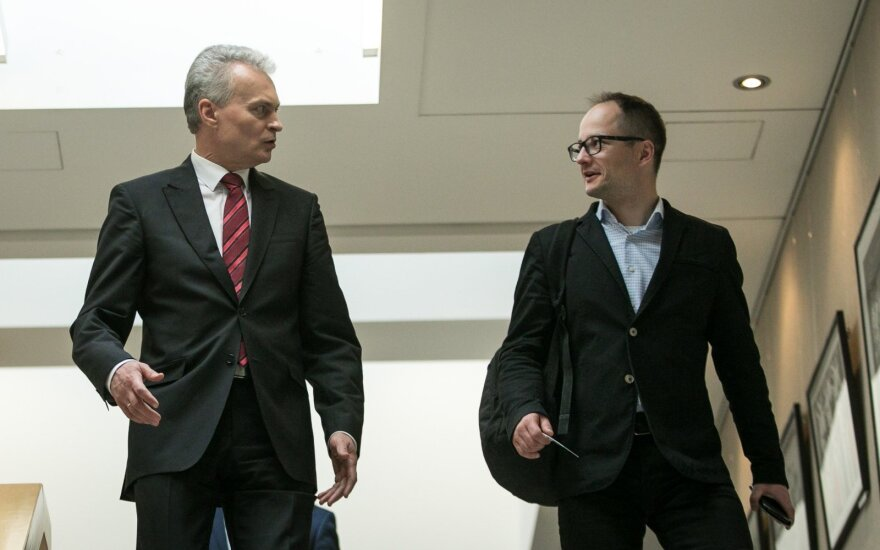 Gitanas Nausėda, Aistis Zabarauskas