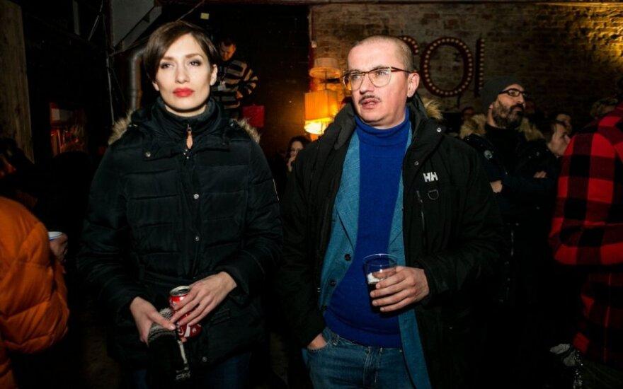 Monika Račiūnaitė-Pogrebnojė ir Aleksandras Pogrebnojus