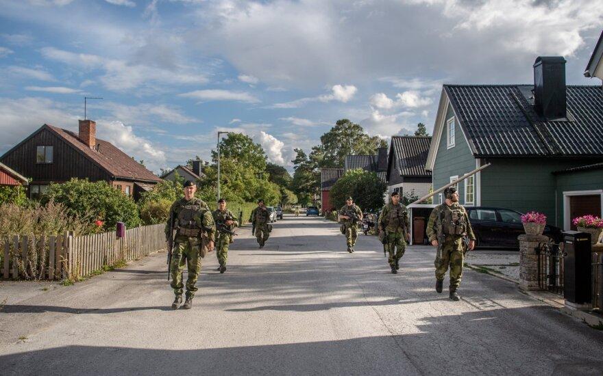 Švedijos kariuomenės pratybos, 2020 rugpjūtis