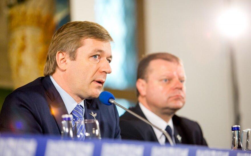 Ramūnas Karbauskis, Saulius Skvernelis