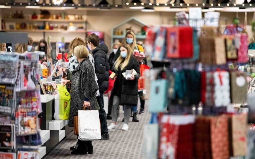 Lithuania to consider allowing all shops to reopen in mid-Apri