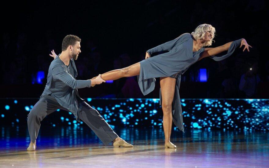 Geriausia Lietuvos Lotynų Amerikos sportinių šokių pora paskelbė apie karjeros pabaigą