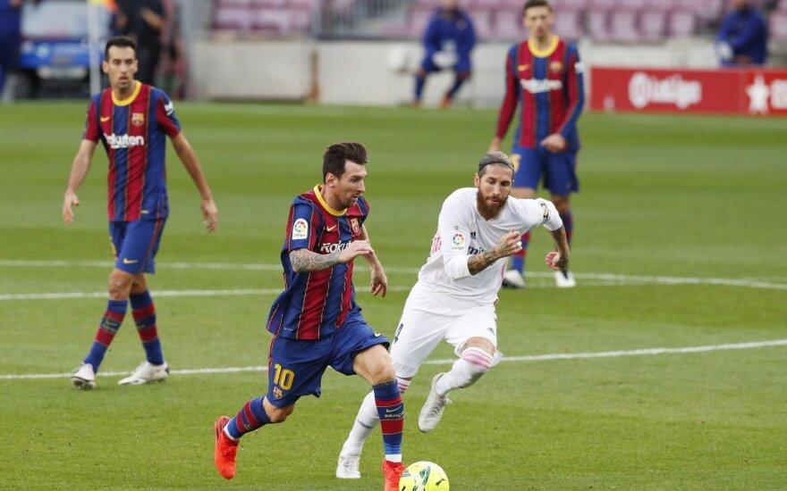 Lionelis Messi prieš Sergio Ramosą