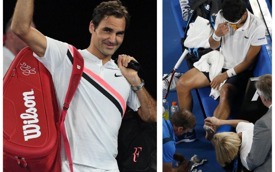 Rogeris Federeris ir Chungas Hyeonas