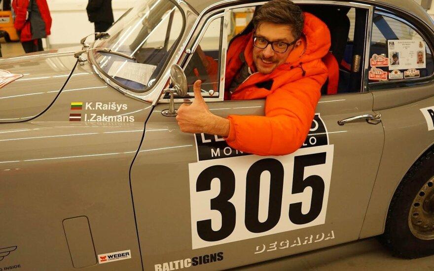 Karolis Raišys važiuos su Prancūzijos ralio svajonių komanda