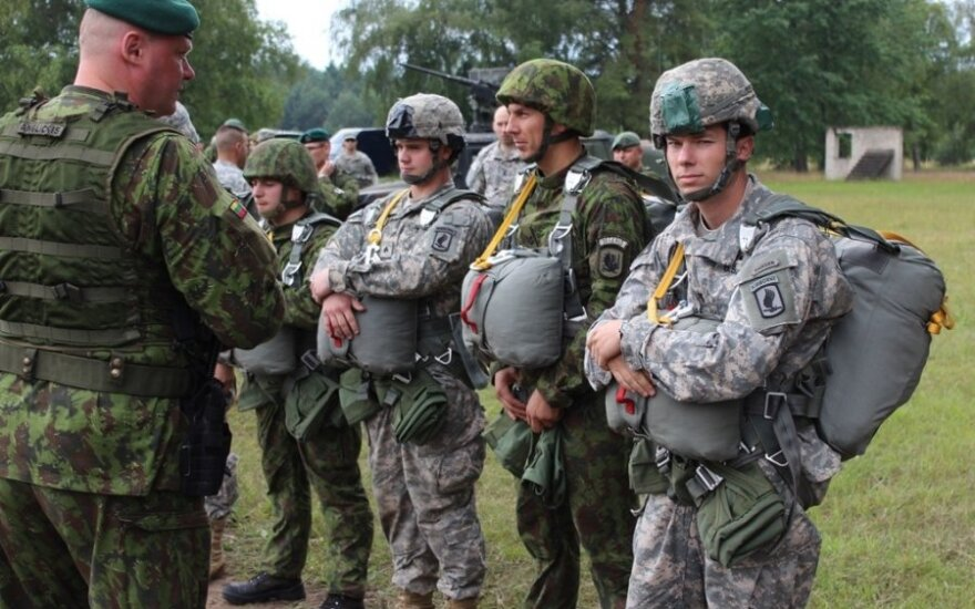 Lithuanian soldiers see off third rotation of US colleagues