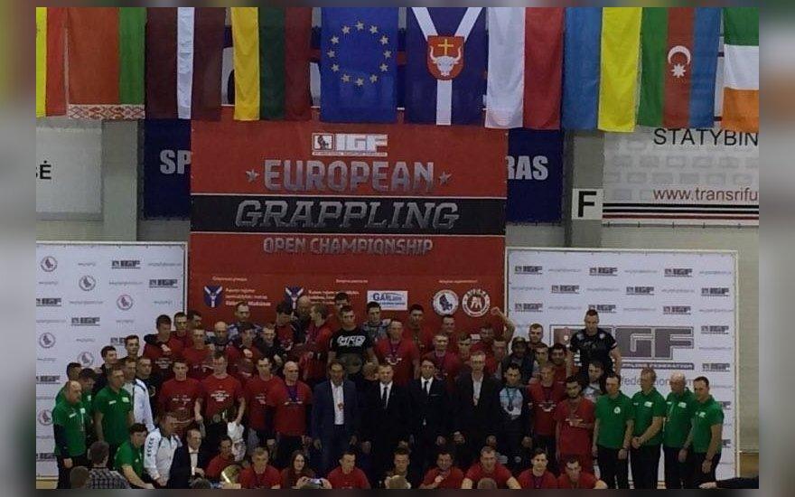 Europos graplingo čempionato dalyviai