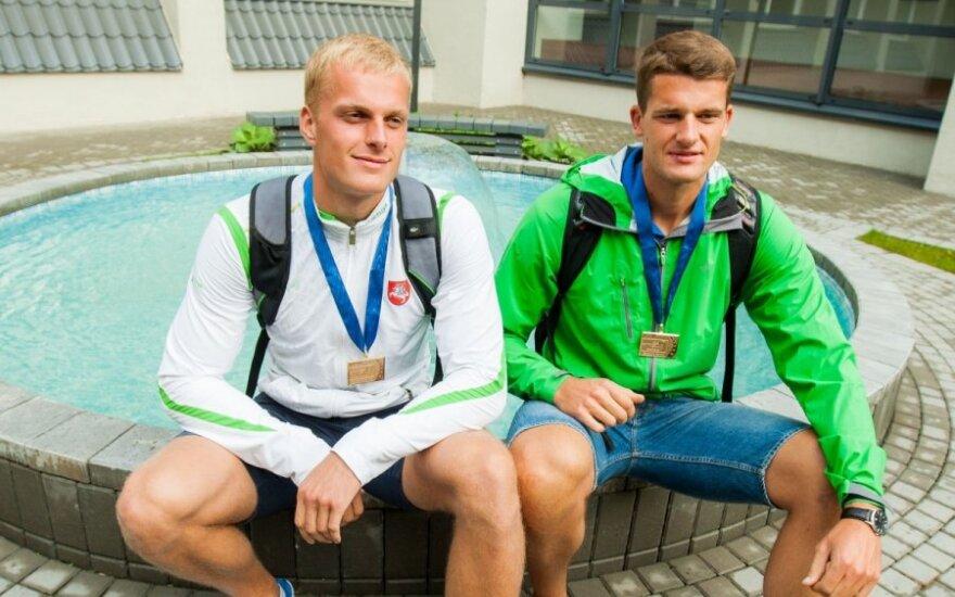 S. Ritteris ir R. Maščinskas negins Europos čempionų titulo