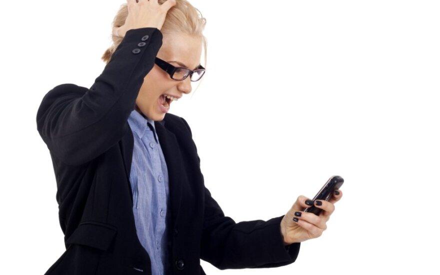 """Mobiliojo ryšio operatoriaus """"dovana"""" šokiravo klientę"""