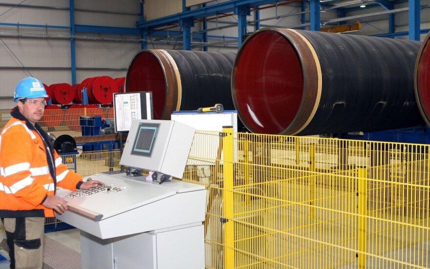 """ES Tarybos sprendimas privers Rusiją pakoreguoti planus dėl """"Nord Stream 2"""""""