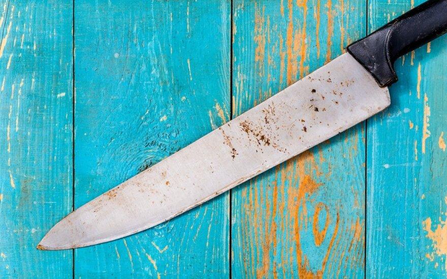 Surūdijęs peilis