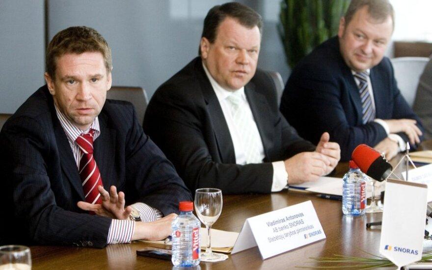 Vladimiras Antonovas, Raimondas Baranauskas, Naglis Stancikas