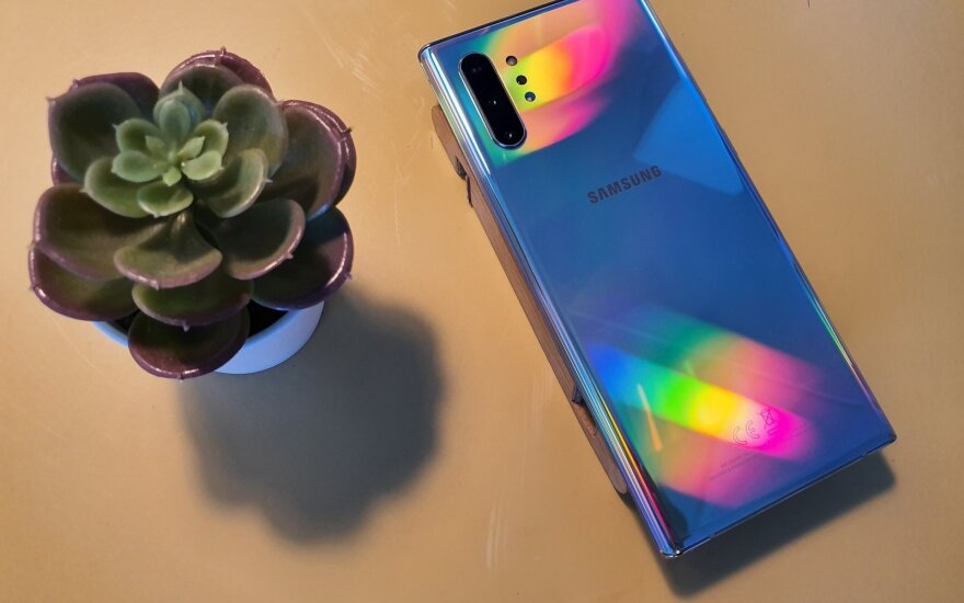 Samsung Galaxy Note 10 ir Samsung Galaxy Note 10+
