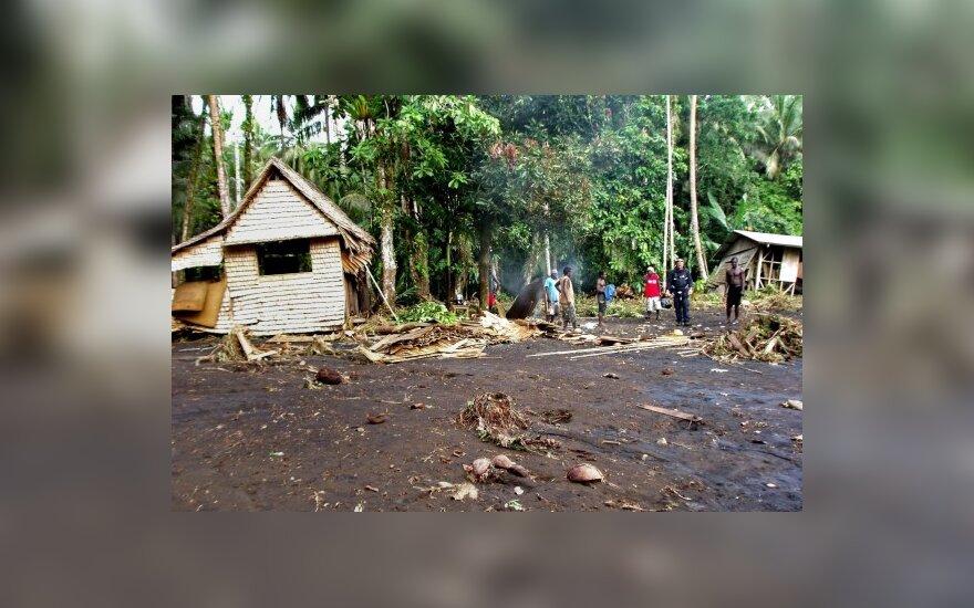 Saliamono salas sukrėtė stiprus žemės drebėjimas