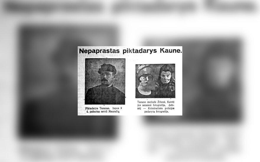 Ir Kaune kaip Čikagoj, arba Pirmoji automobilių vagystė Lietuvoje