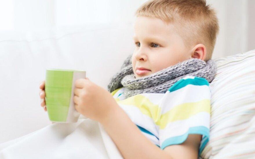 Kaip ištraukti vaiką iš užburto ligų rato?
