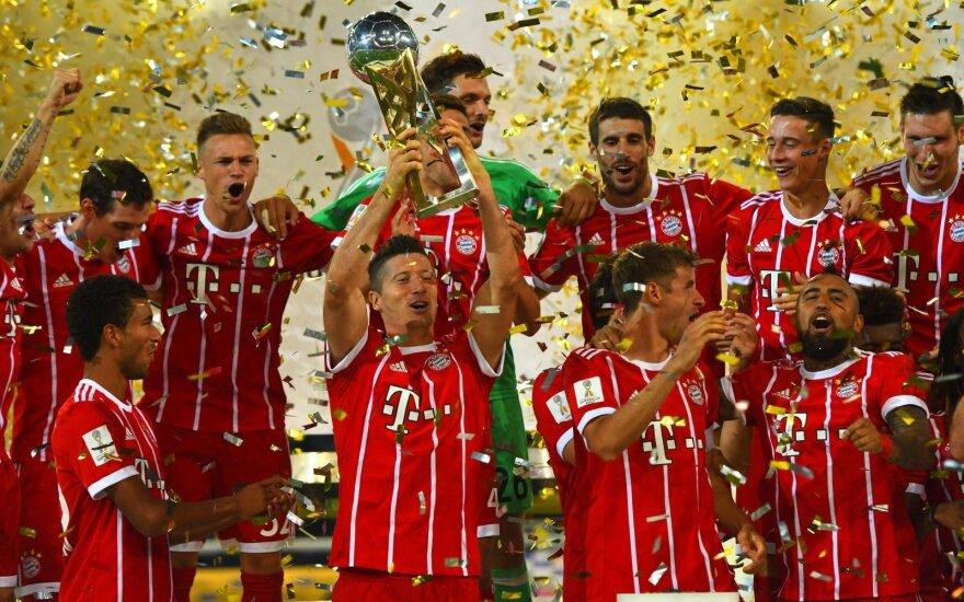 "Miuncheno ""Bayern"" iškovojo Vokietijos Supertaurę"