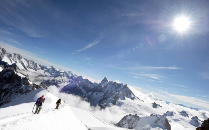 Vienas iš Prancūzijos Alpėse dingusių vilniečių atsiuntė SMS, antrojo buvimo vieta vis dar nežinoma