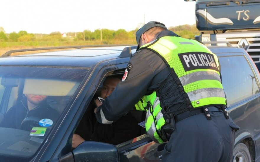 Uostamiesčio policijos pareigūnų reidas