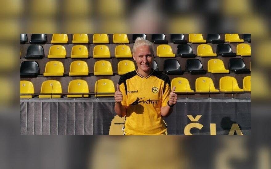 Anastasija Ročanė (fkgintra.lt nuotr.)