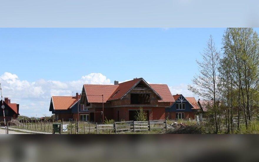 Namai Pajūrio regioniniame parke