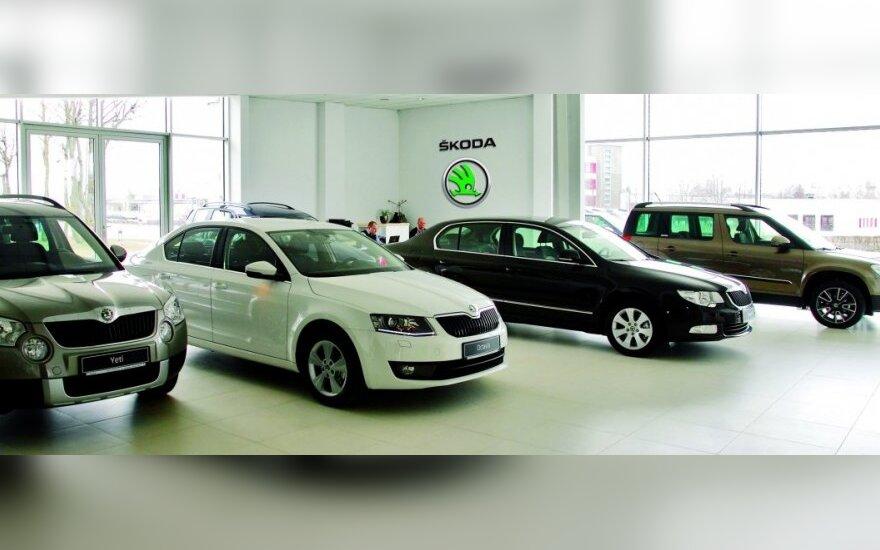 Naujas Škoda salonas Klaipėdoje