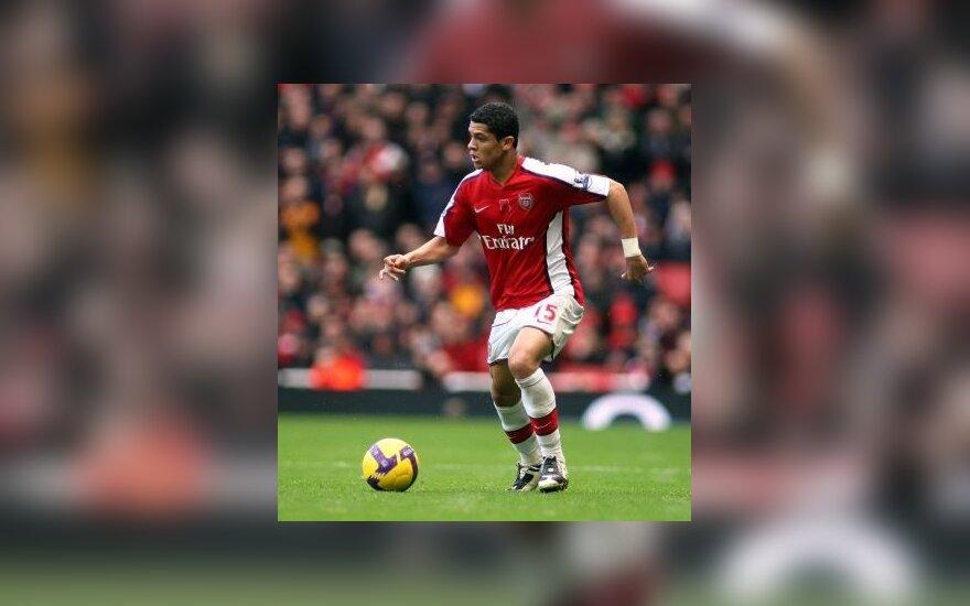 """Samiras Nasri (""""Arsenal"""")"""