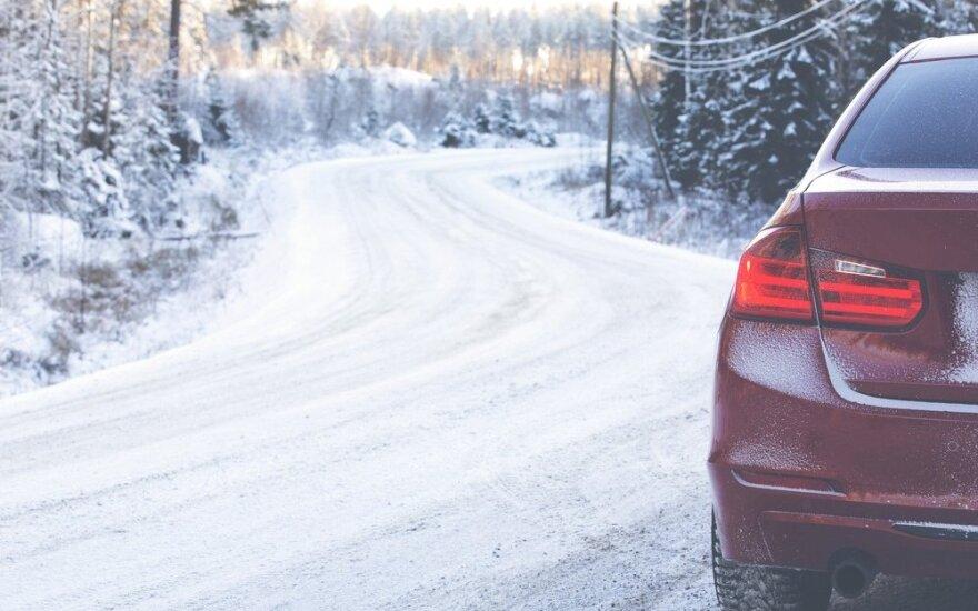 Asmeninė istorija: tikiuos, daugiau avarijų žiemą patirti neteks
