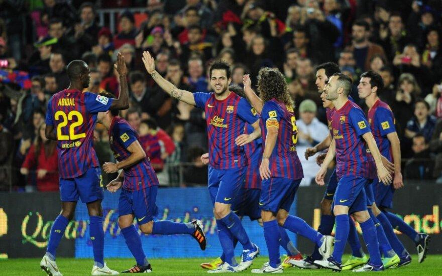 """""""Barcelona"""" klubo pagrindinės sudėtis nežais su BATE ekipa"""