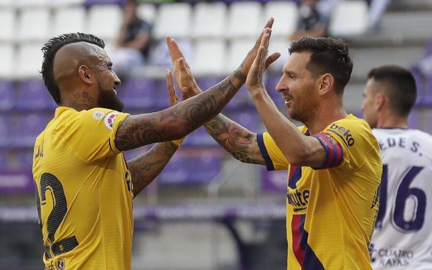 Arturo Vidalis, Leo Messi