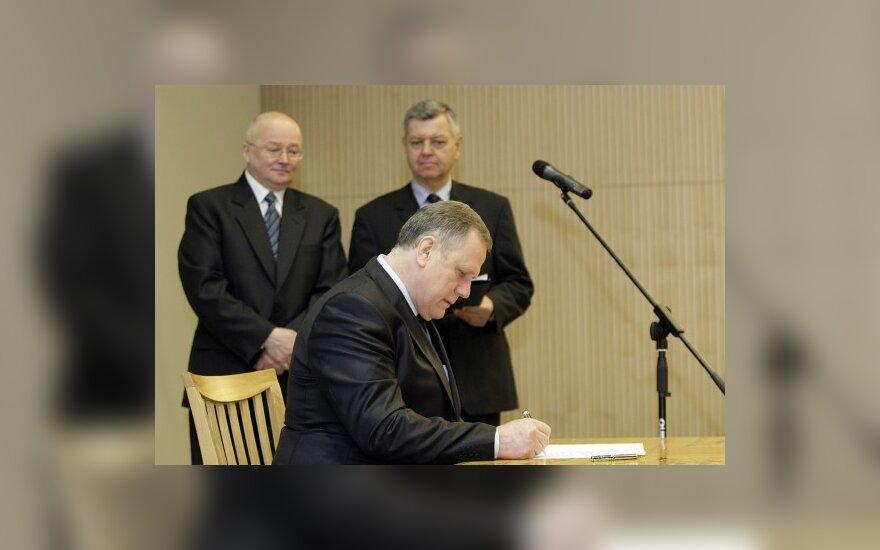 Č.Jezerskas galvotų apie referendumą dėl mirties bausmės