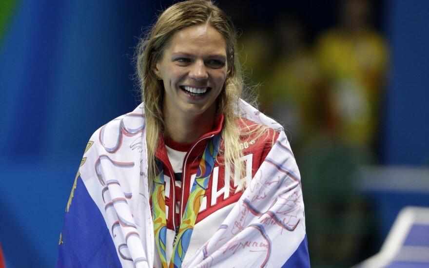 J. Jefimova maudėsi šlovės spinduliuose: Maskvoje laimėjo dar du aukso medalius