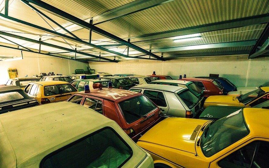 """""""Volkswagen Golf"""" automobilių kolekcija"""