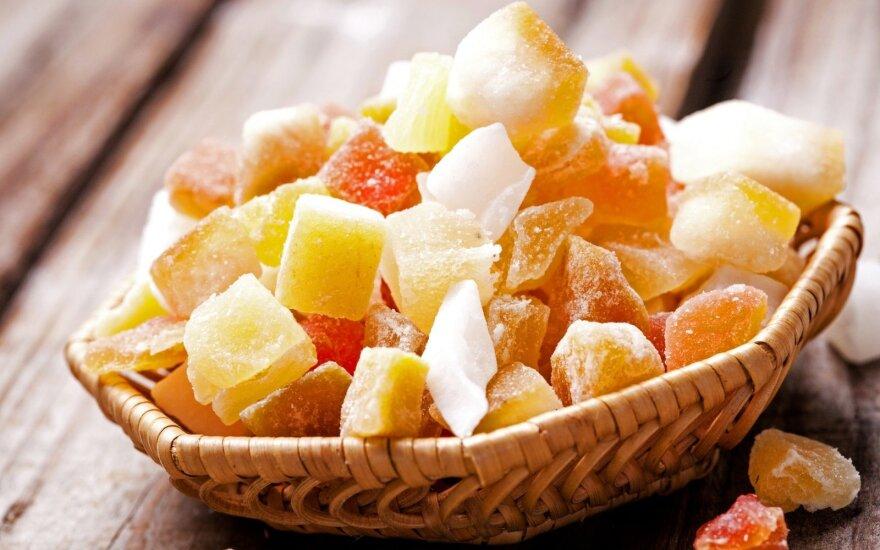 Cukatos – alternatyva saldumynams?